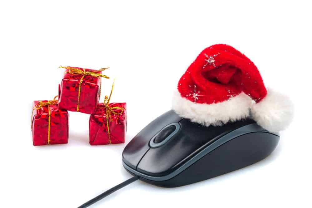 Jul på computeren