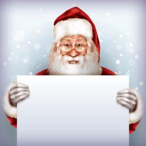 Skriv et brev til julemanden.
