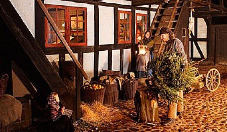 Jul i Den Gamle By i Aarhus