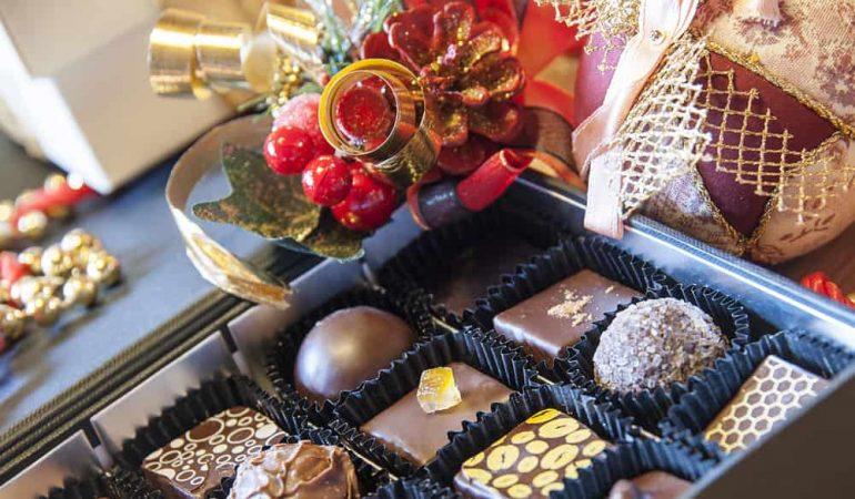 Pinjeorangechokolade