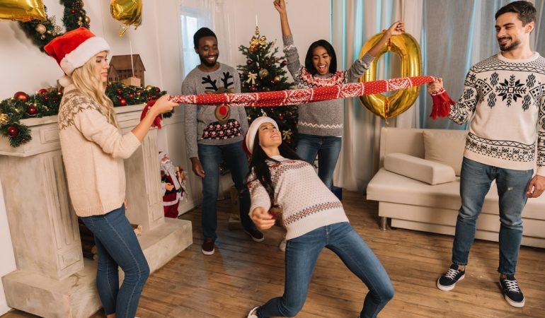 sjove julelege til julefrokosten